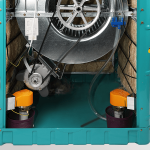 نمای داخلی و موتور کولر آبی مدلBF5-B