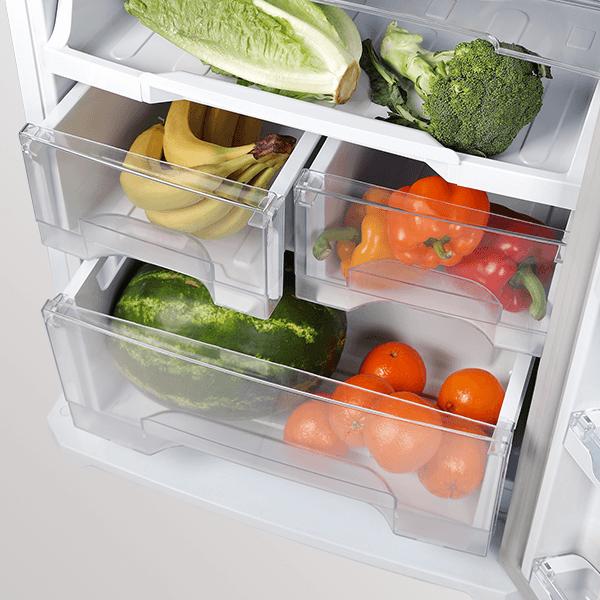 محل نگهداری میوه و سبزی در یخچال نوفراست مدل BNR