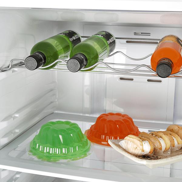 محل نگهداری بطری در یخچال نوفراست مدل BNR