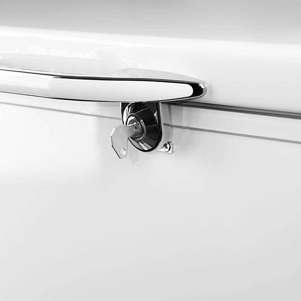 قفل در فریزر صندوقی مدل CF-310L