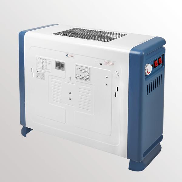 نمای پشتی بخاری برقی فن دار مدل QH-3000