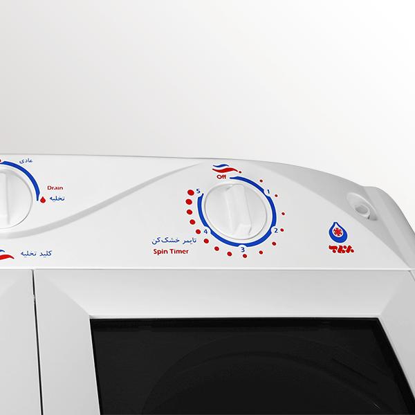 درجه های ماشین لباسشویی دوقلو مدل WM-750