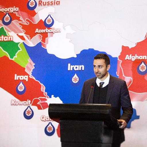برفاب در کردستان عراق اربیل