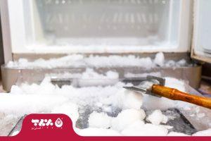 راه های جلوگیری از برفک یخچال