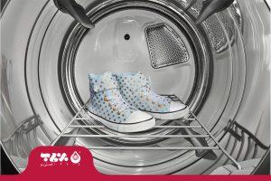 شستن کفش در ماشین لباسشویی