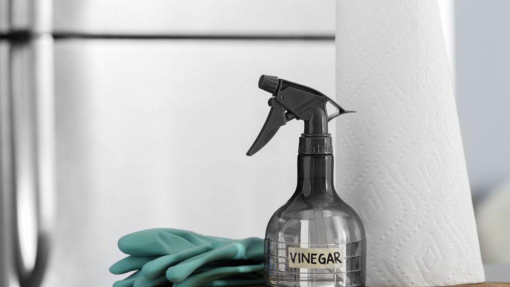 استفاده از سرکه برای شستشوی یخچال و آبسردکن