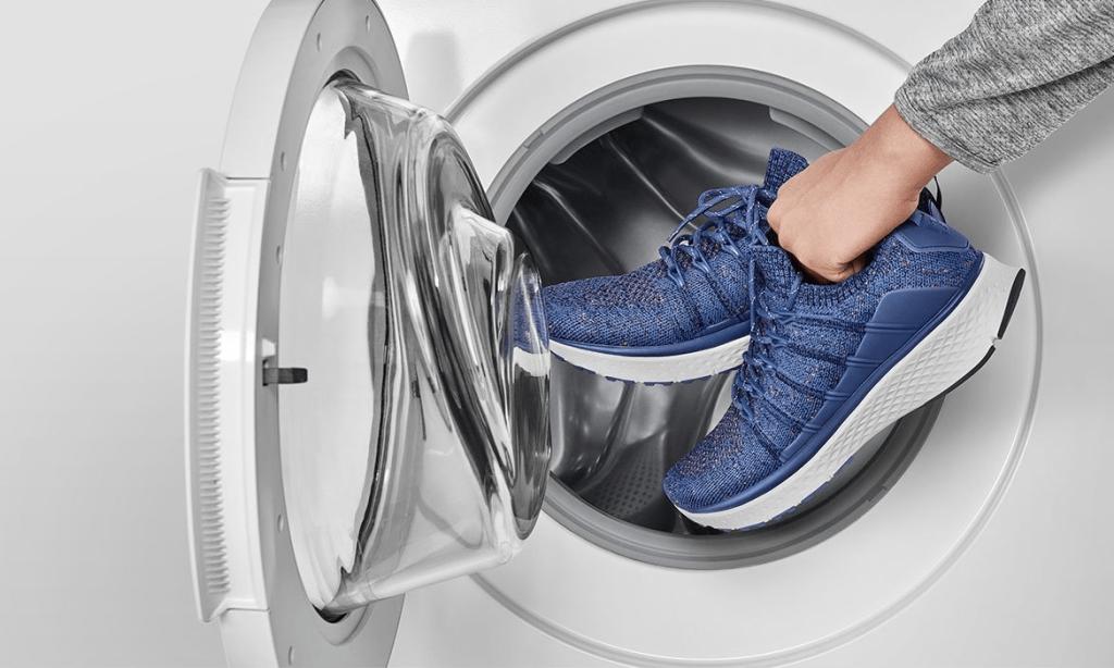 شستن کفش در ماشین لباسشویی ایرانی مثل برفاب