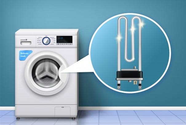 سیستم کنترل دمای آب در انواع مختلف ماشین لباسشویی